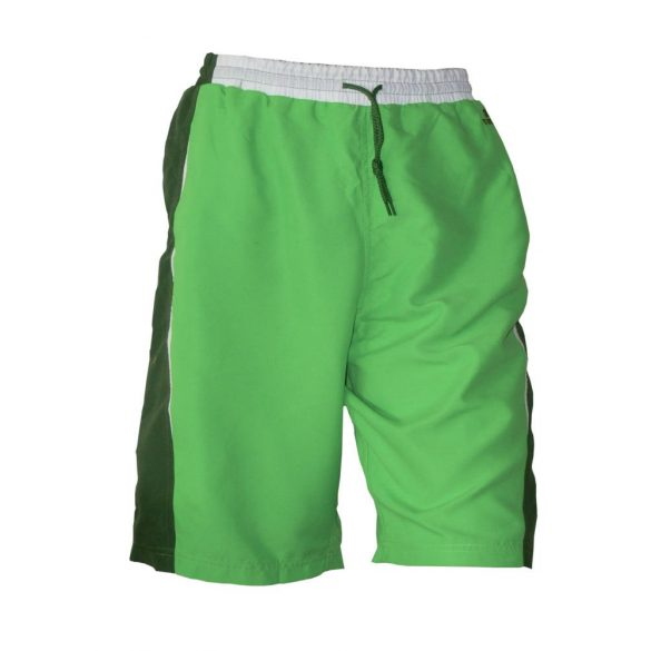 Short-Beach blumen-dunkelgrün