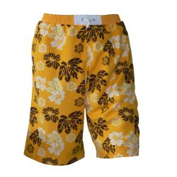 Short - Beach blumen orange