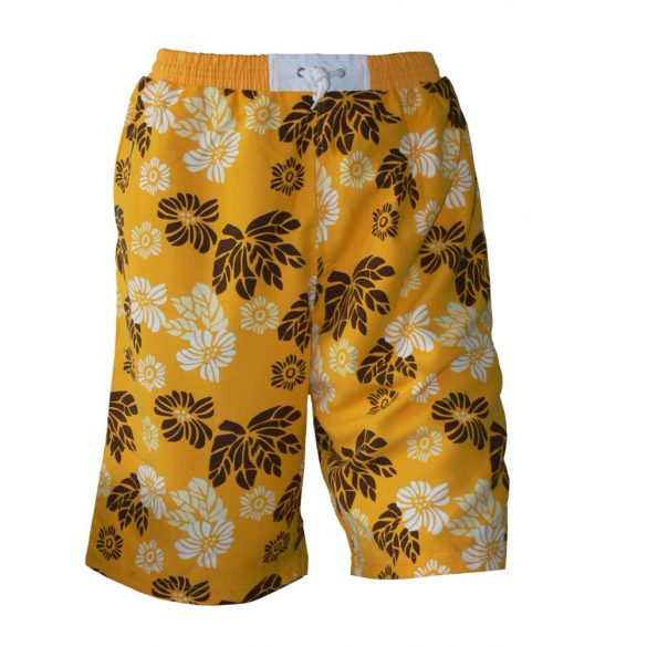 Short-Beach blumen-orange