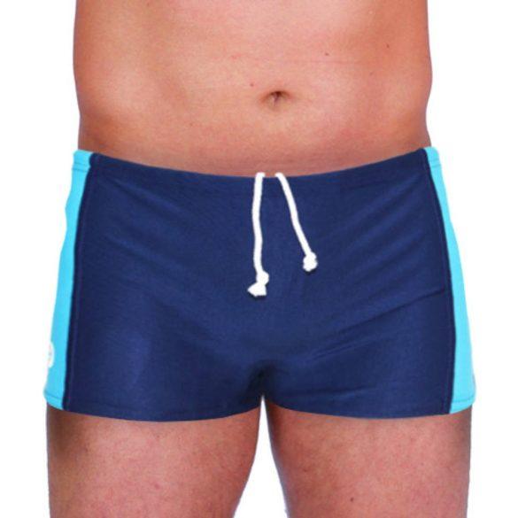 Herren Mini Boxer-königsblau/navy blau lycra