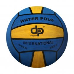 Wasserball-W4 Damen/Kinder-navyblau/gelb