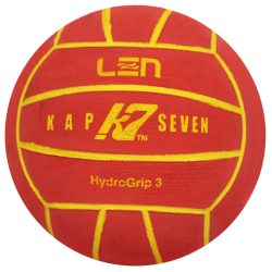 Wasserball - Kap7 Grösse 3 rot-gelb