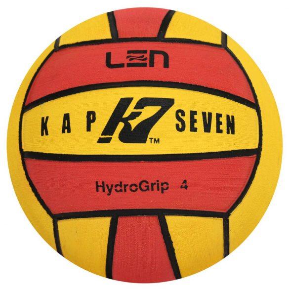 Wasserball-Kap7 Grösse 4-gelb/rot