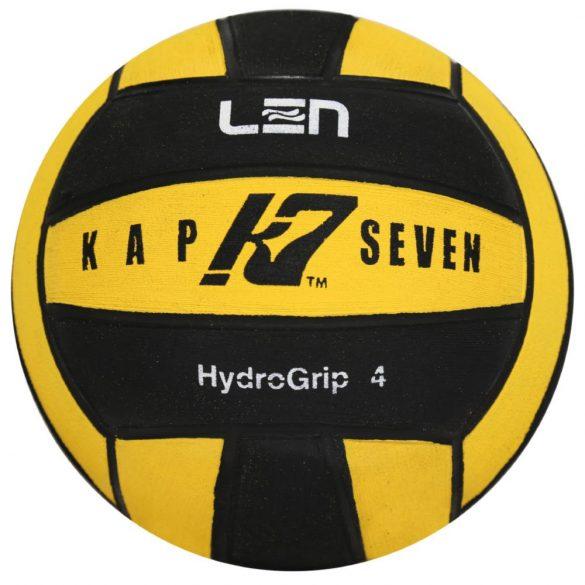 Wasserball-Kap7 Grösse 4-gelb/schwarz