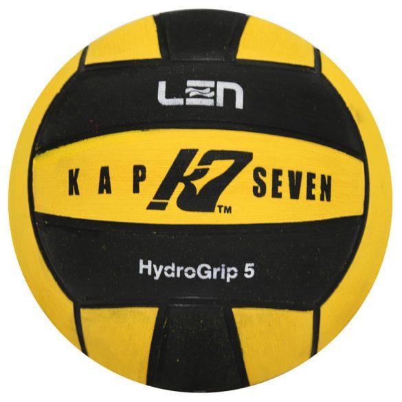 Wasserball-Kap7 Grösse 5-gelb-schwarz