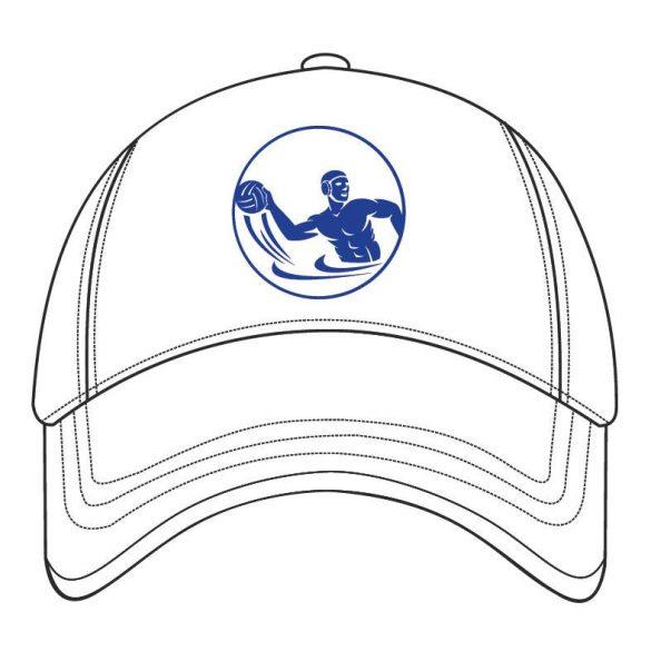 Frem-Baseballmütze Wasserball-weiss