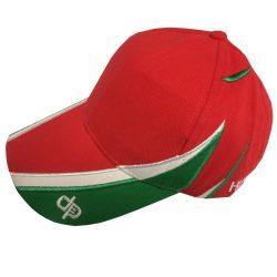 Baseball Kappe - rot-weiss-grün