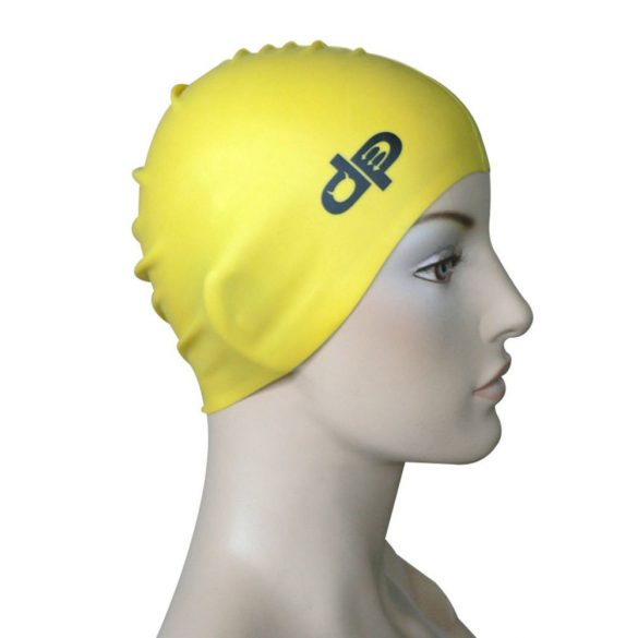 Schwimmkappe-DP silikon-gelb