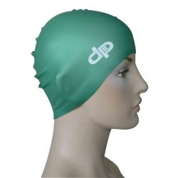 Schwimmkappe - dunkelgrün silikon