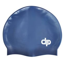 Schwimmkappe - royalblau silikon
