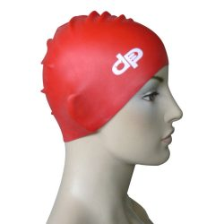 Schwimmkappe - DP piros silikon