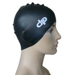 Schwimmkappe - DP schwarz silikon