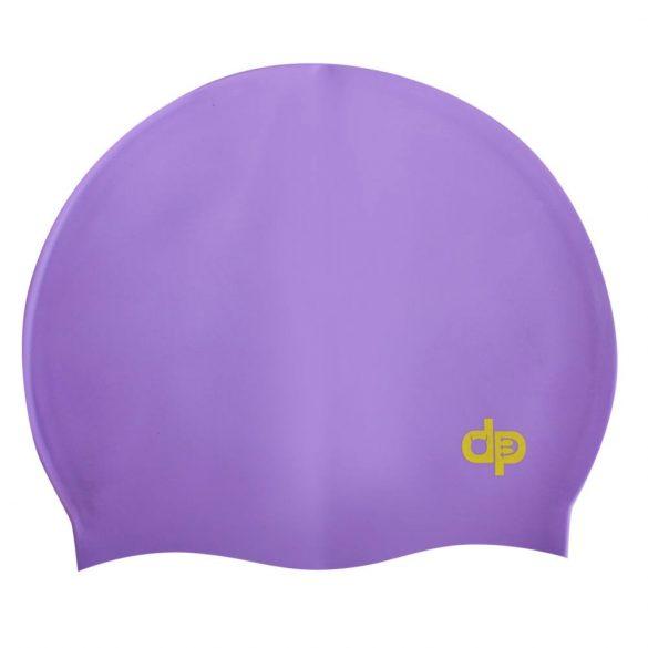 Schwimmkappe-DP silikon-lila
