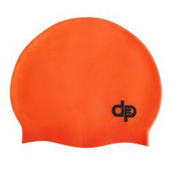 Schwimmkappe - orange silikon