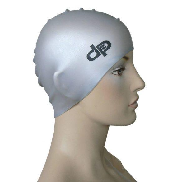 Schwimmkappe-DP silikon-silver