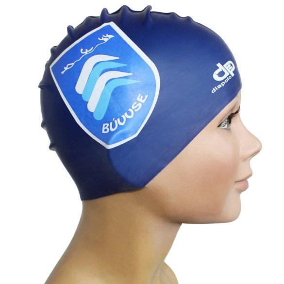 Schwimmkappe-Budaörs silikon-königsblau