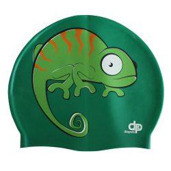 Schwimmkappe - Chamäleon silikon