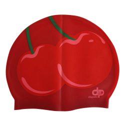 Schwimmkappe - Cseresznyés silikon