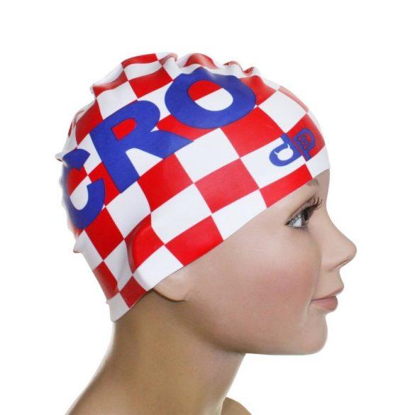 Schwimmkappe-Kroatien Name silikon