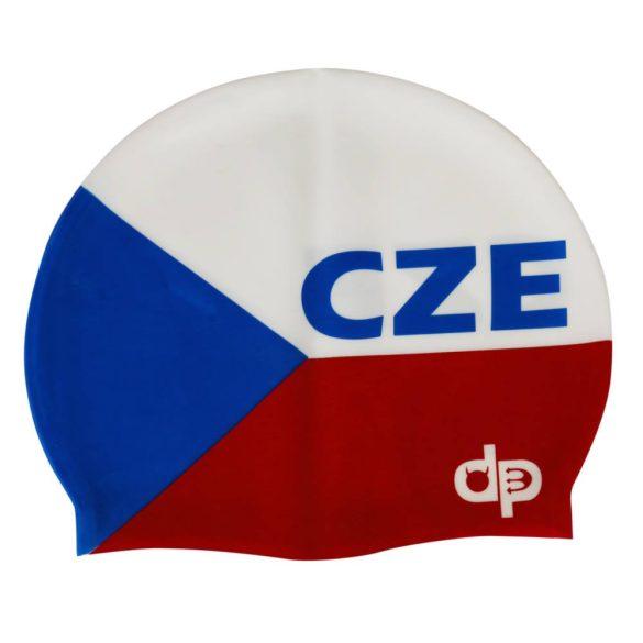 Schwimmkappe-Tschechien 2 silikon