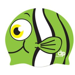 Schwimmkappe - Nemo grün silikon