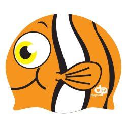 Schwimmkappe - Nemo orange silikon