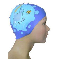 Schwimmkappe - Shark silikon2