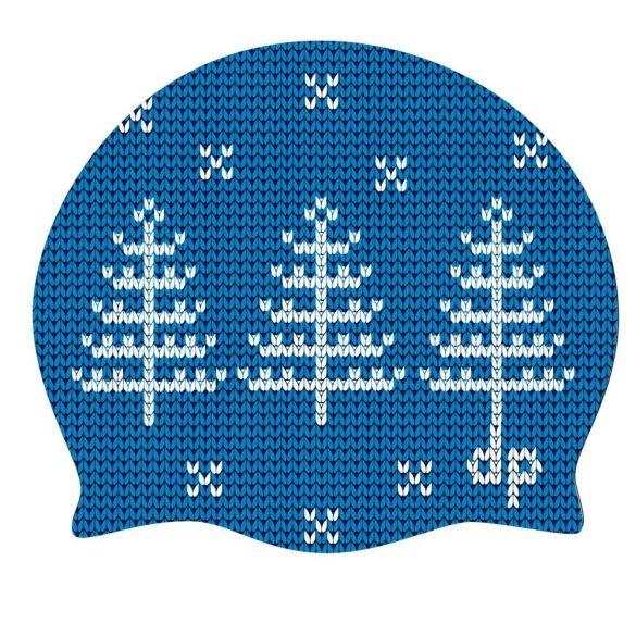 Schwimmkappe-Tanne-königsblau