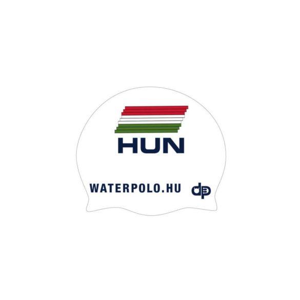 Ungarische Wasserball-Nationalmannschaft-Schwimmkappe-weiss