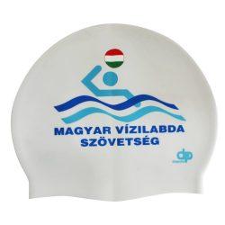 Schwimmkappe - MVSZ weiss silikon