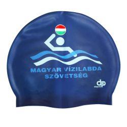 Schwimmkappe - MVSZ royalblau silikon