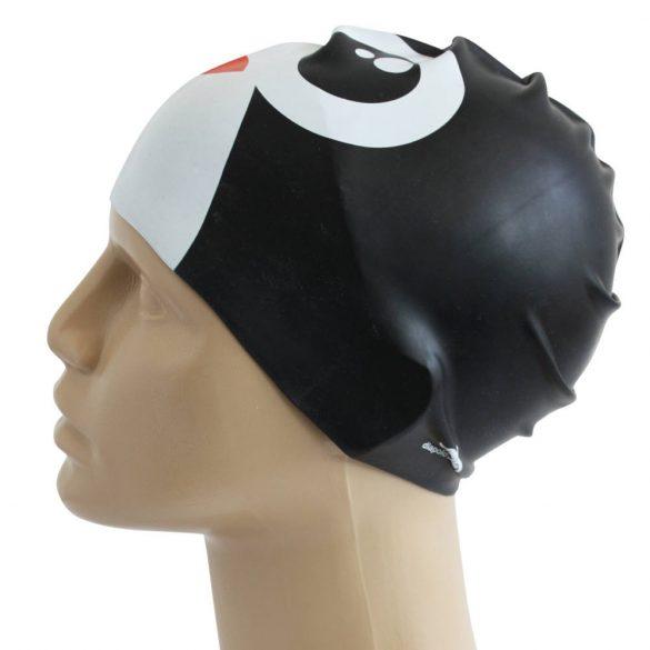 Schwimmkappe-Pinguin 2 silikon