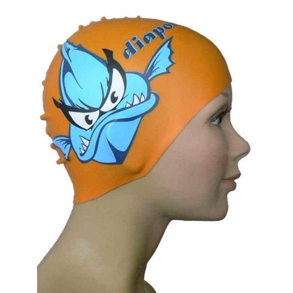 Schwimmkappe-Piranha
