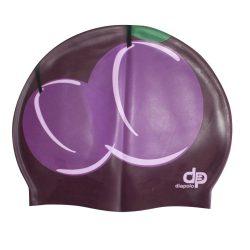 Schwimmkappe - Pflaume silikon