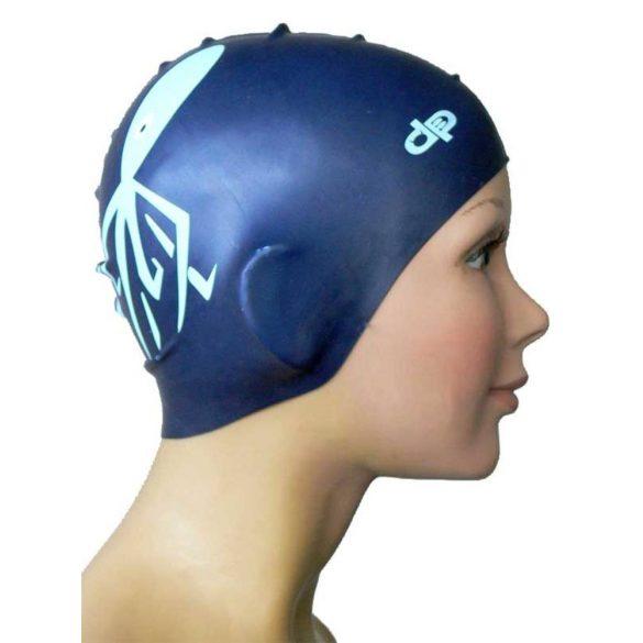 Schwimmkappe-Krake-blau