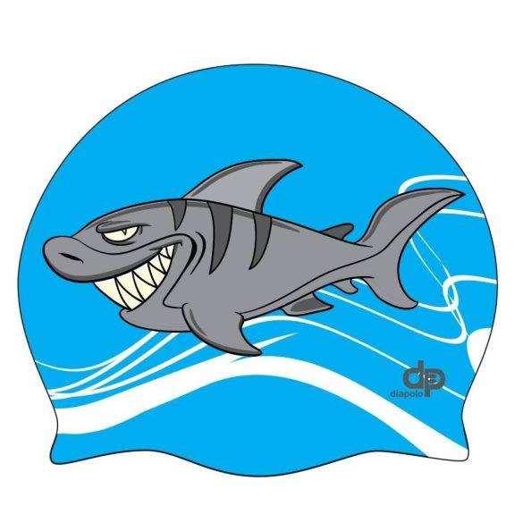 Schwimmkappe-Shark silikon2