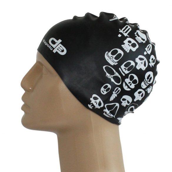 Schwimmkappe-Skull pattern silikon