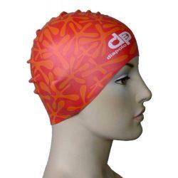 Schwimmkappe - Wasser rot silikon