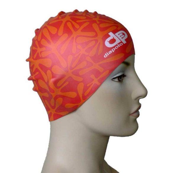 Schwimmkappe-Wasser silikon-rot