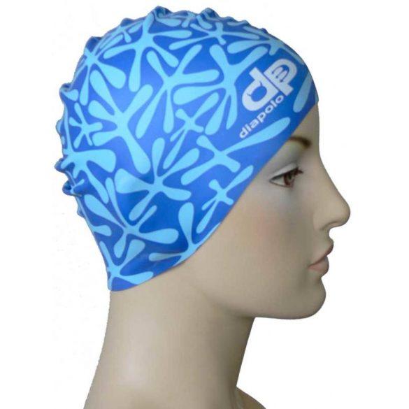 Schwimmkappe-Hai silikon-blau