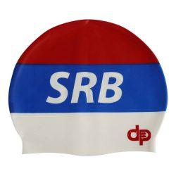 Schwimmkappe - Serbie silikon
