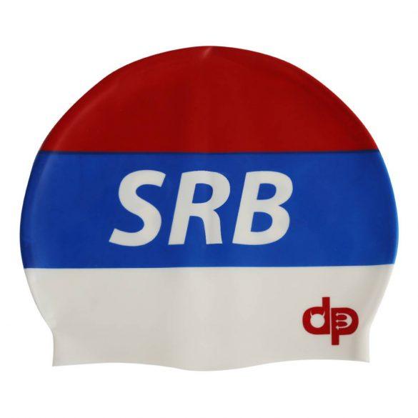 Schwimmkappe-Serbie silikon