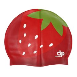 Schwimmkappe - Erdbeer silikon