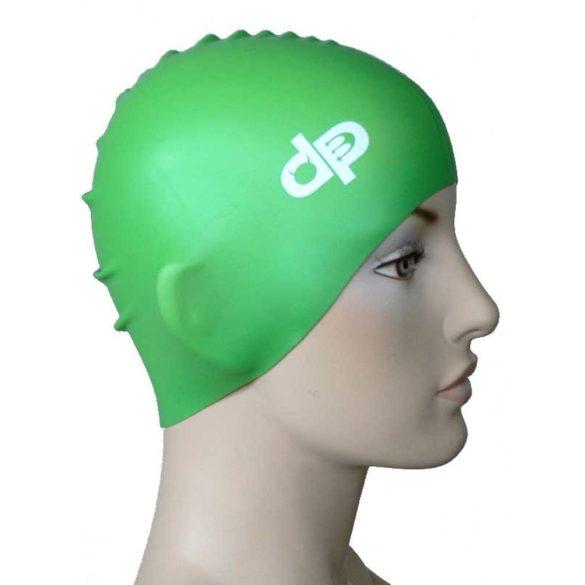 Schwimmkappe-silikon-grün