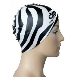 Schwimmkappe - Zebra silikon