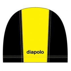 Schwimmkappe - gelb-schwarz lycra
