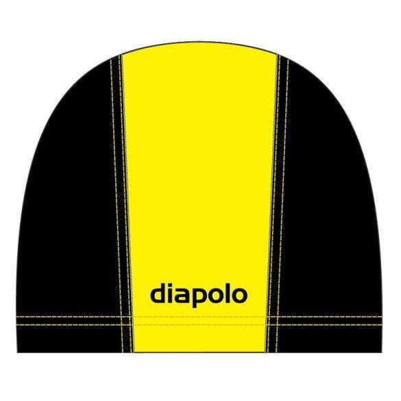 Schwimmkappe-gelb/schwarz lycra