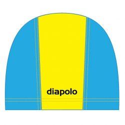 Schwimmkappe - gelb-navyblau lycra