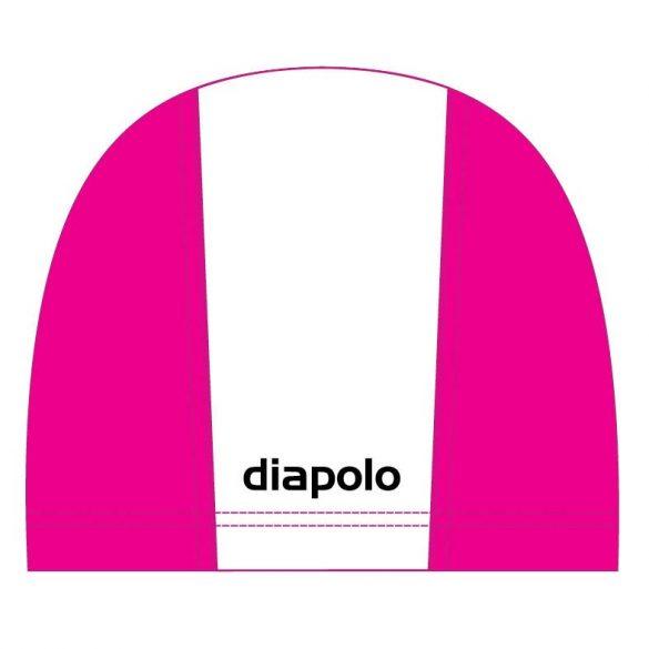 Schwimmkappe-weiss/pink lycra
