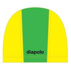 Schwimmkappe - grün-gelb lycra